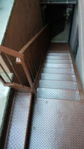 industrial metal staircases