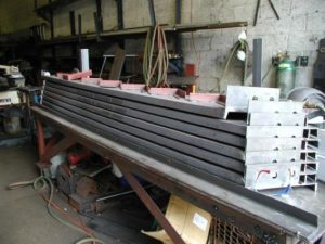 institutional steel staircase stringers